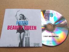 FOXES - BEAUTY QUEEN - VERY RARE PROMO CD