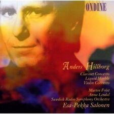 Esa-Pekka Salonen - Clarinet Concerto / Liquid Marble / Violin Cto [New CD]