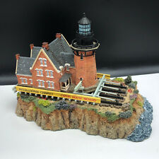 Vintage Lighthouse Sculpture figurine statue Rhode Island Southeast Block Move