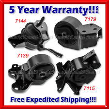 L242 Fit 04-09 Kia Spectra / Spectra5 2.0L MANUAL Motor & Trans Mount Set 4pcs