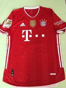 FC Bayern München Trikot Spielertrikot 2020/2021 Goretzka Matchworn?