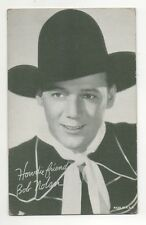 Bob Nolan 1940's 1950's Salutations Cowboy Exhibit Penny Arcade Card