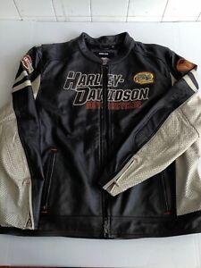 Harley Davidson Gunnar Sport Leather Jacket 97010 3XL