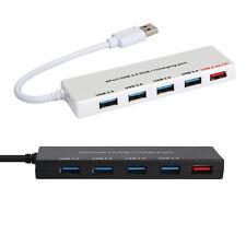 Portatile USB 3.0 4 porte alta velocità Hub USB 1.1/2.0 1 Porta Per Ricarica