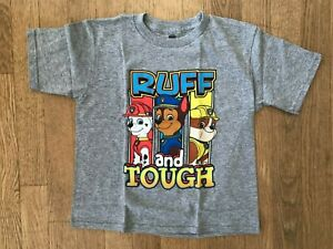 Nickelodeon PAW Patrol RUFF and TOUGH! Toddler T-Shirt BNWT