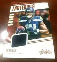2019 Panini Absolute DK Metcalf Absolute Rookie Materials Patch Jersey RC  'WOW""