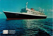 Holland America Cruises Ss Veendam Passenger Cruise Ship Postcard Unposted