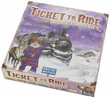 Ticket To Ride Nordic Countries Board Game Days Of Wonder DOW DO7208 Alan Moon