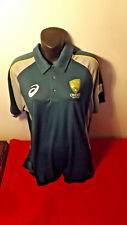 CRICKET AUSTRALIA OFFICIAL 2015 ASIC SHIRT LIKE NEW CONDITION WITH TAGS SIZE L