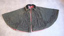 RARE cape ancienne brodé 19 20  siecle 1880 VERY OLD ANTIC french cloak