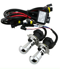H4 H/L 6000K 35W HID Bi- Xenon Bulbs Replacement + Relay