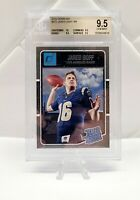 2016 Donruss Jared Goff Rated Rookie BGS 9.5 Gem Mint (10 Centering)RC Rams #372