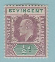 St Vincent 71 Mint Hinged OG * - No Faults Very Fine!