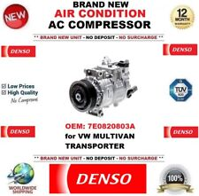 Denso NUEVO aire acondicionado CA Compresor OEM 7e0820803a para VW MULTIVAN