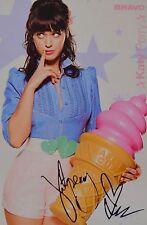 Katy perry-AUTOGRAPHE CARTE-signed autograph autographe fan collection captures