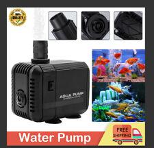 New Fish Pond Tank Water Pump Submersible Aquarium Pump Sump Fountain In/Outdoor
