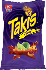 Takis Fuego Hot Chili Pepper & Lime Tortilla Chips 4z