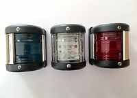 Marine LED Navigation Light 12V (Set of 3) Boat Chandlery / Boat / Rib / Yacht