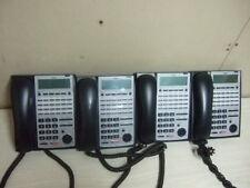 LOT 4 NEC SL1100 SYSTEM PHONE IP IP4WW-24TXH-B-Tel (BK) Black 24 Button Display