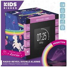 Bigben Radiowecker RR70 Unicorn Einhorn Projektor dimmbar FM Radio AU365016