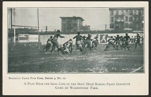Scarce Brooklyn Superbas (Dodgers) Washington Park Baseball Stadium Postcard