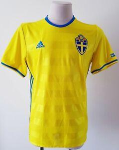 Sweden 2015 - 2016 Home football Adidas shirtsize L