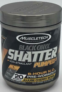 Pre-Workout - Black Onyx Shatter - 20 Servings - Jujube Cherry Bomb - 5.80 Oz