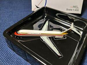 "Net Models Continental Airlines ""Black Meatball"" Hybrid Paint Scheme DC-9 1:400"