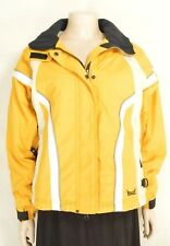Marker jacket SZ 6 bright yellow hood ski snow skiboard winter excellent