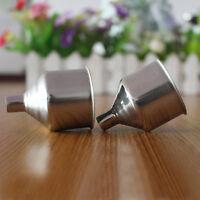 3pcs/lot Durable Stainless Steel Mini Funnel for Essential Bottle Hip Flasks Oil