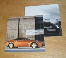 Nissan 350Z Coupe & Roadster Brochure Set inc GT Pack 2007