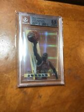 MICHAEL JORDAN 1996 BOWMANS BEST SHOTS ATOMIC REFRACTORS  #BS6 BGS 8.5 NM-MINT+