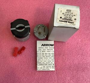 Arrow Hart 6222 Locking Plug Nema L7-20P