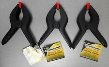 "LOT OF 3 - G-FORCE PRO 6"" HEAVY DUTY SPRING CLAMP 2"" JAW OPENING"