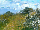 Springtime by Claude Monet, Giclee Canvas Print, various sizes