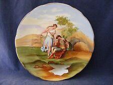 Antique Empire Porcelain Decorator Plate Kaufmann Staffordshire