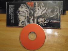RARE PROMO De La Soul CD single Baby Phat +Watch Out instrumental RAP Devin Dude