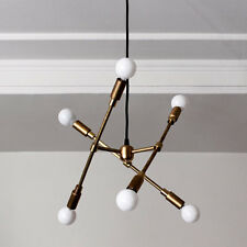 Industrial Vintage DIY Ceiling Brass Chandelier, Pendant DIY lighting Chandelier