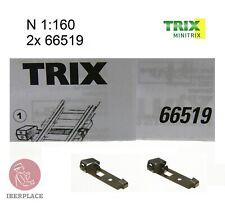 Minitrix Trix 66519 N escala 1:160 2x set Borne de conexión Feeder Clip Presa