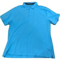 Under Armour Mens Golf Polo Shirt Size 2xl XXL NWT New active blue C230