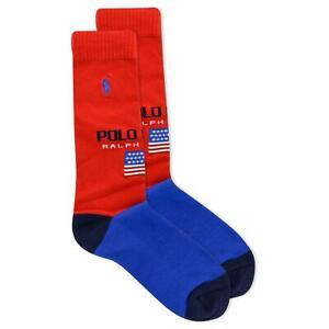Polo Ralph Lauren Men's Polo Sport Color Block Crew Sock