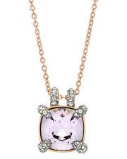 "SWAROVSKI - ""Make Up"" 18k Rose Gold-Plated Swarovski Crystal Pendant Necklace"