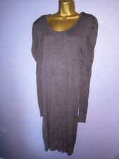 Cashmere mix Long Length jumper or jumper dress size 20-22