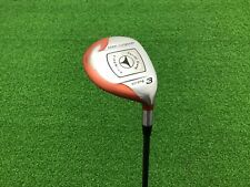 NICE TaylorMade Golf FIRESOLE Strong 3 WOOD Right Handed RH Graphite STIFF Used