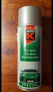 Auto K ALU-Spray silber (400ml) - Aluminium - Spray 400ml - Hitzefest bis 650 °C