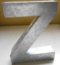 Pottery Barn Kids Galvanized Wall Letter ( Z ) NWOT