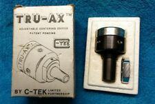 TRU-AX Adjustable Drill Chuck Centering Device.