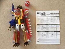 Power Rangers Dino Thunder Red Mega Battilized Ranger with sounds not Megazord