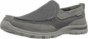 Men's Suede and Mesh Fabric Superior Milford Slip-On Loafer US 10 DM Charcoal
