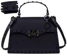 Womens Purses and Handbags Black Handbags for Women - Studded Bags For Women -